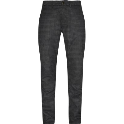 Jones Chino Tapered fit | Jones Chino | Sort